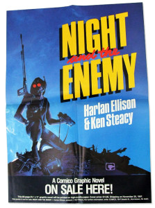 Night And The Enemy Promo Poster